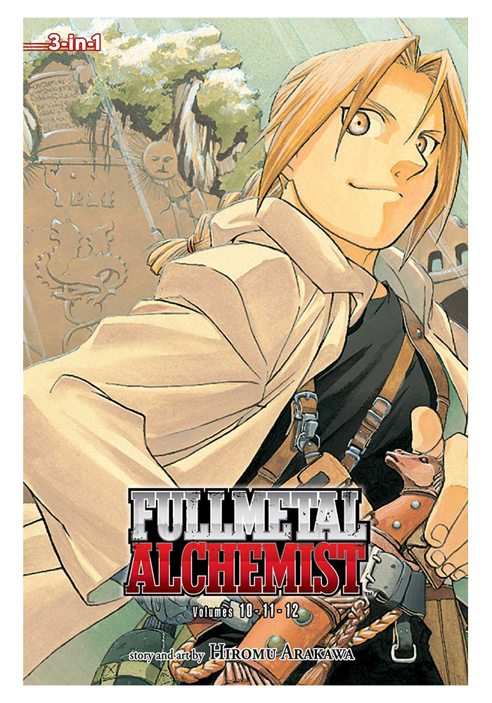 VIZ MEDIA Fullmetal Alchemist  3-in-1 Edition Vol. 4 Manga