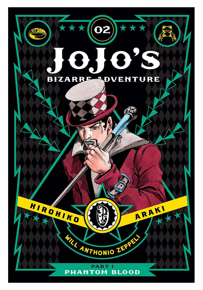 VIZ MEDIA Jojo's Bizarre Adventure Vol 2: Phantom Blood Hardcover Manga