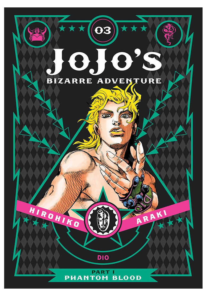 VIZ MEDIA Jojo's Bizarre Adventure Vol 3: Phantom Blood Hardcover Manga