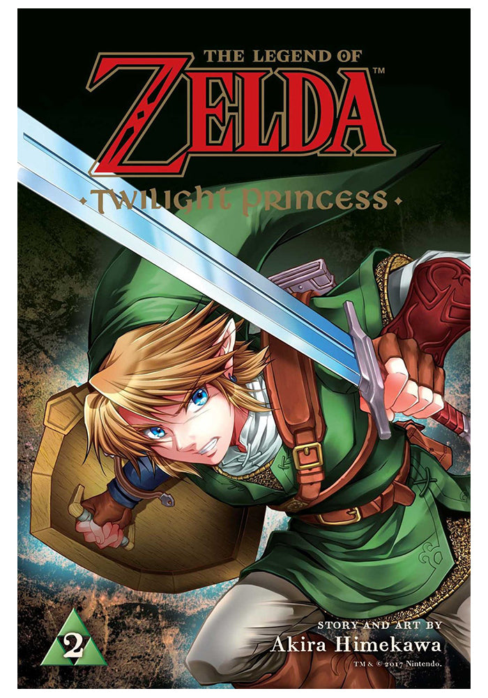 VIZ MEDIA Legend Of Zelda: Twilight Princess Vol 2 Manga