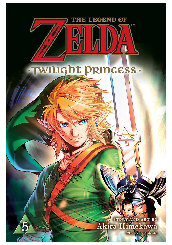 VIZ MEDIA Legend Of Zelda: Twilight Princess Vol 5 Manga