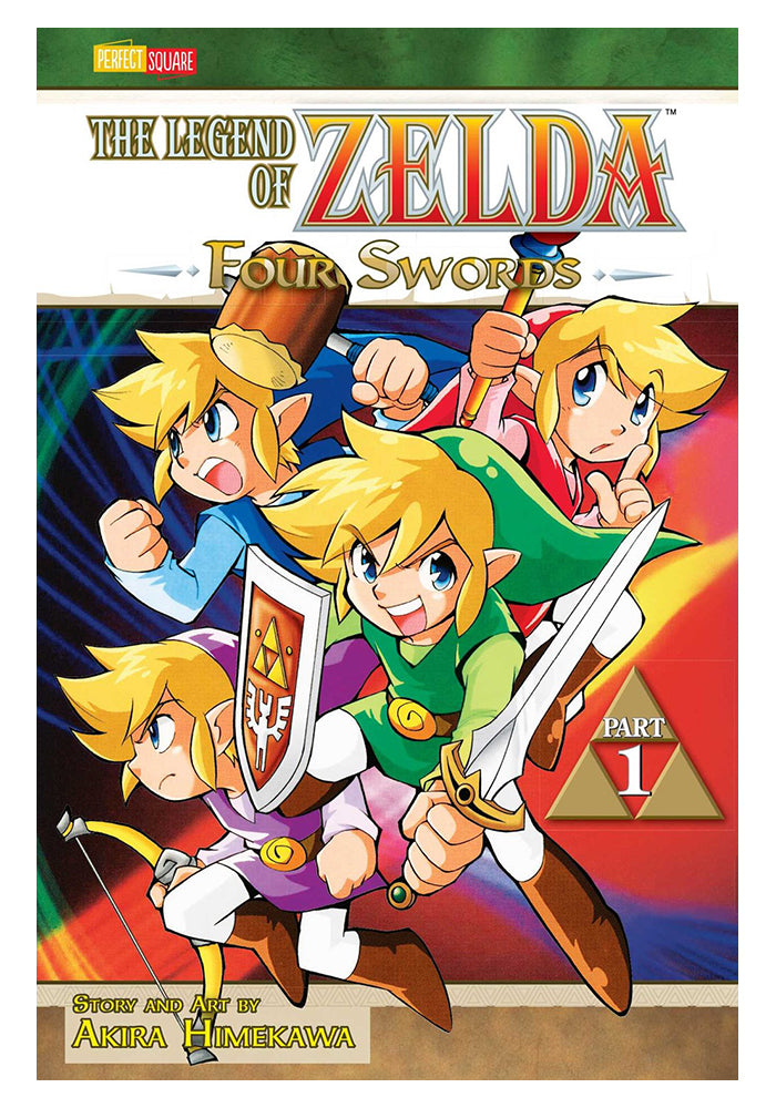 VIZ MEDIA Legend Of Zelda Vol. 6: Four Swords Part 1 Manga