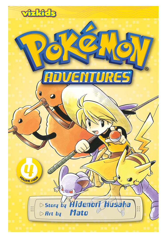 VIZ MEDIA Pokemon Adventures Red & Blue Vol. 4 Manga