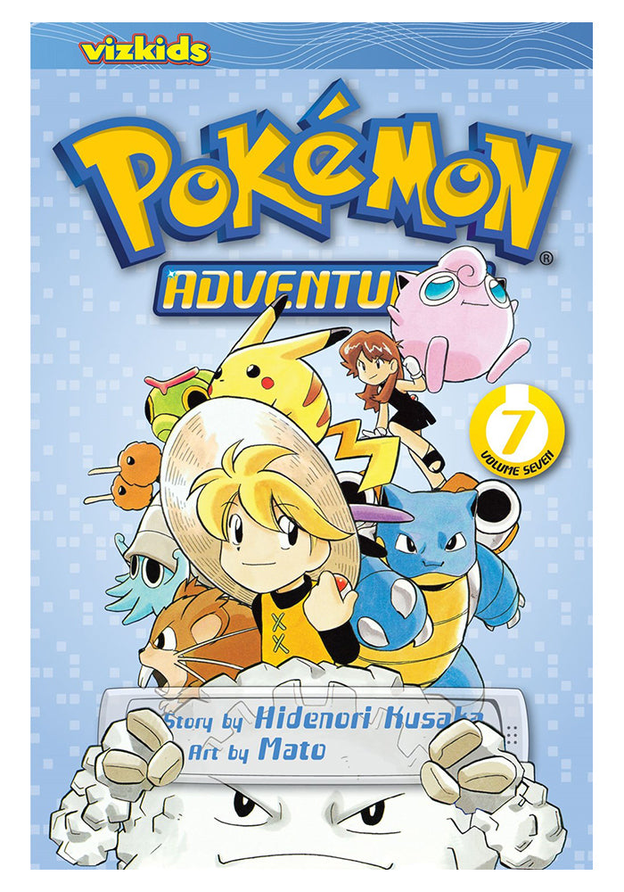 VIZ MEDIA Pokemon Adventures Red & Blue Vol. 7 Manga