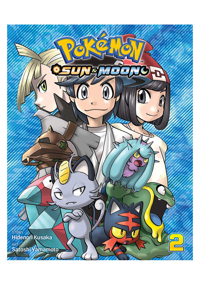 VIZ MEDIA Pokemon: Sun & Moon Vol. 2 Manga