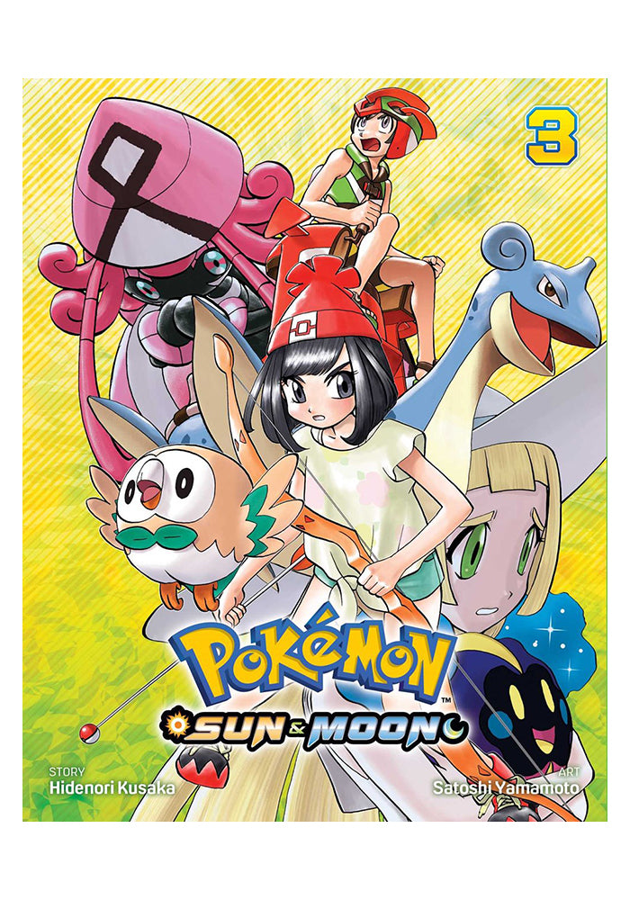VIZ MEDIA Pokemon: Sun & Moon Vol. 3 Manga