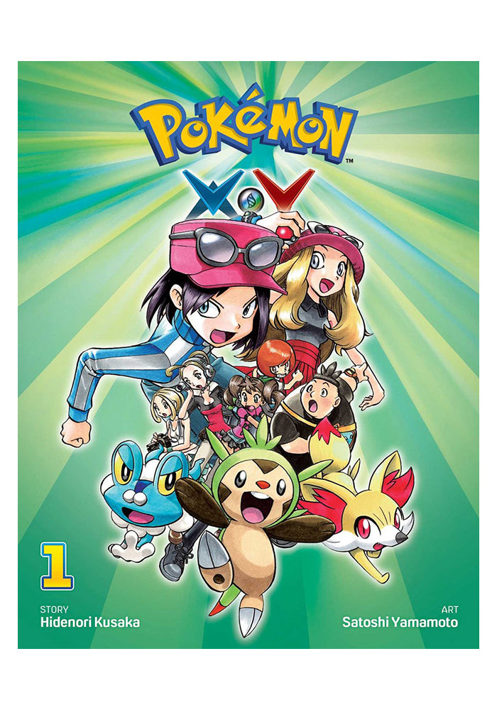 VIZ MEDIA Pokemon XY Vol. 1 Manga