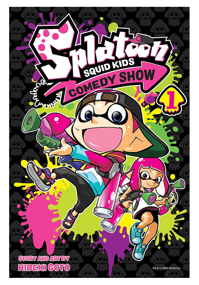 VIZ MEDIA Splatoon: Squid Kids Comedy Show Vol. 1 Manga