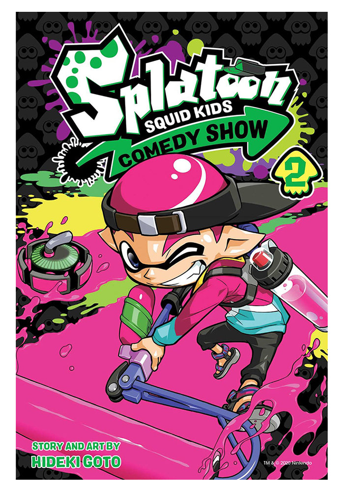 VIZ MEDIA Splatoon: Squid Kids Comedy Show Vol. 2 Manga