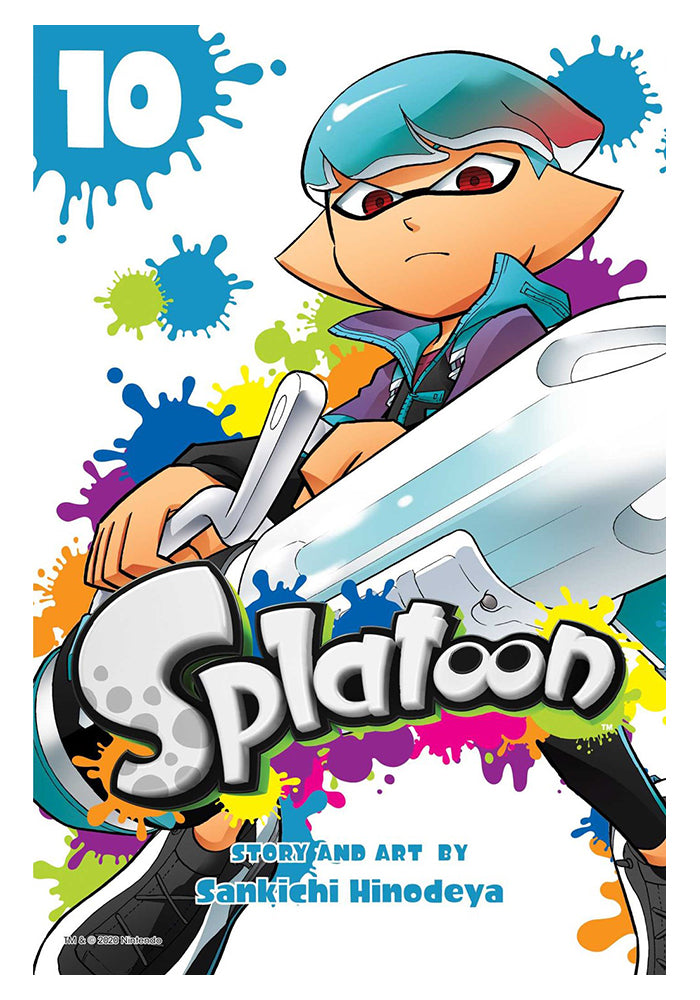 VIZ MEDIA Splatoon Vol 10 Manga