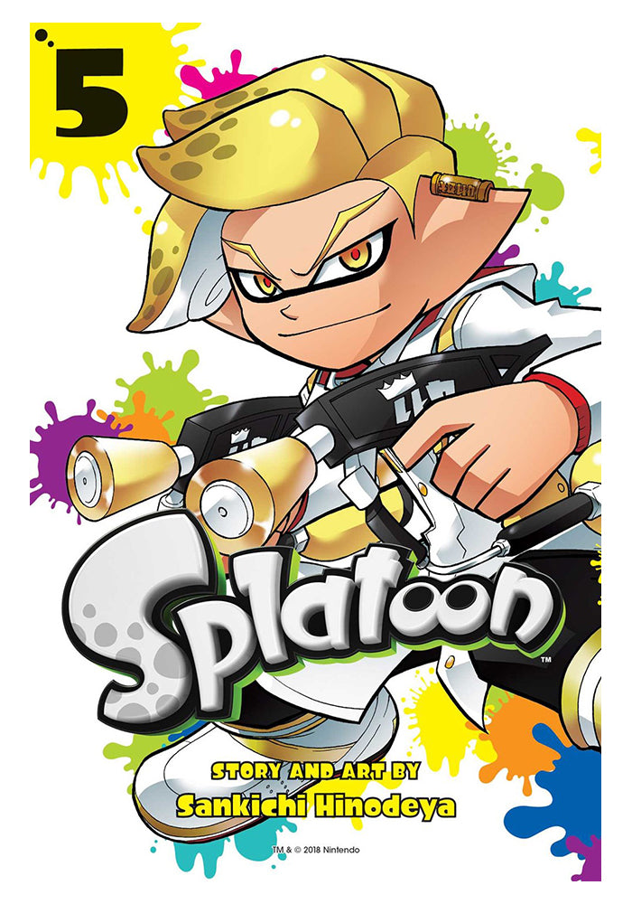 VIZ MEDIA Splatoon Vol 5 Manga