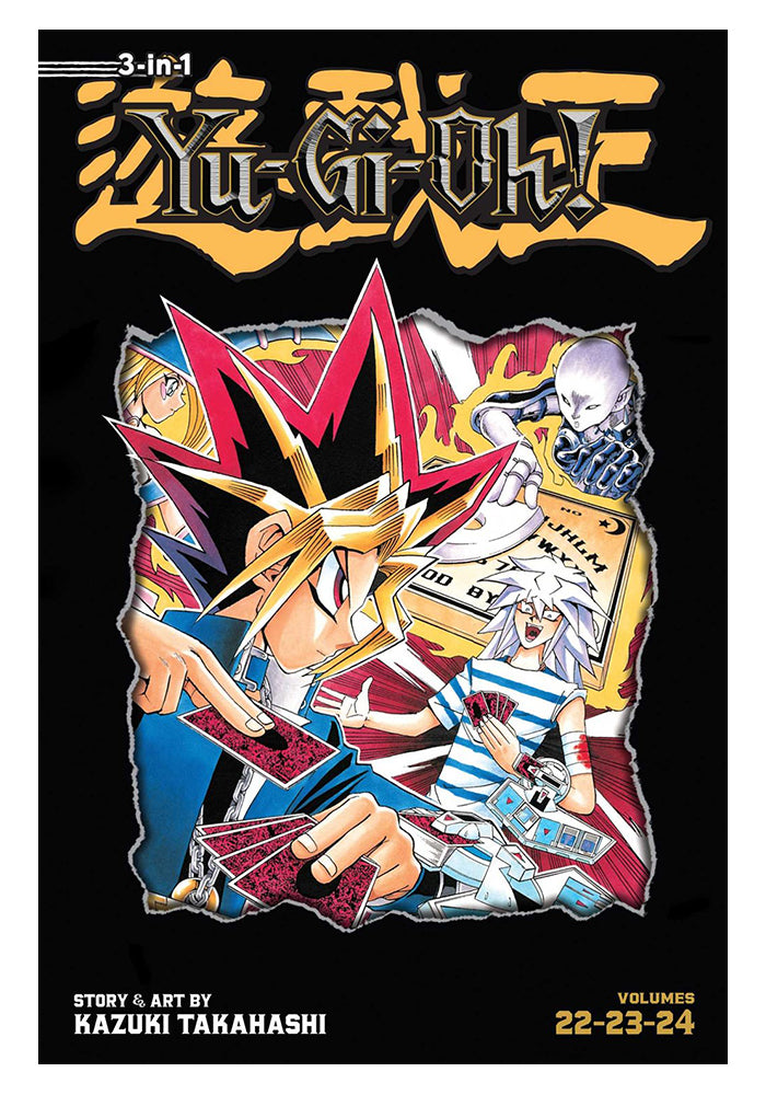 VIZ MEDIA Yu-Gi-Oh! 3-in-1 Edition Vol. 8 Manga