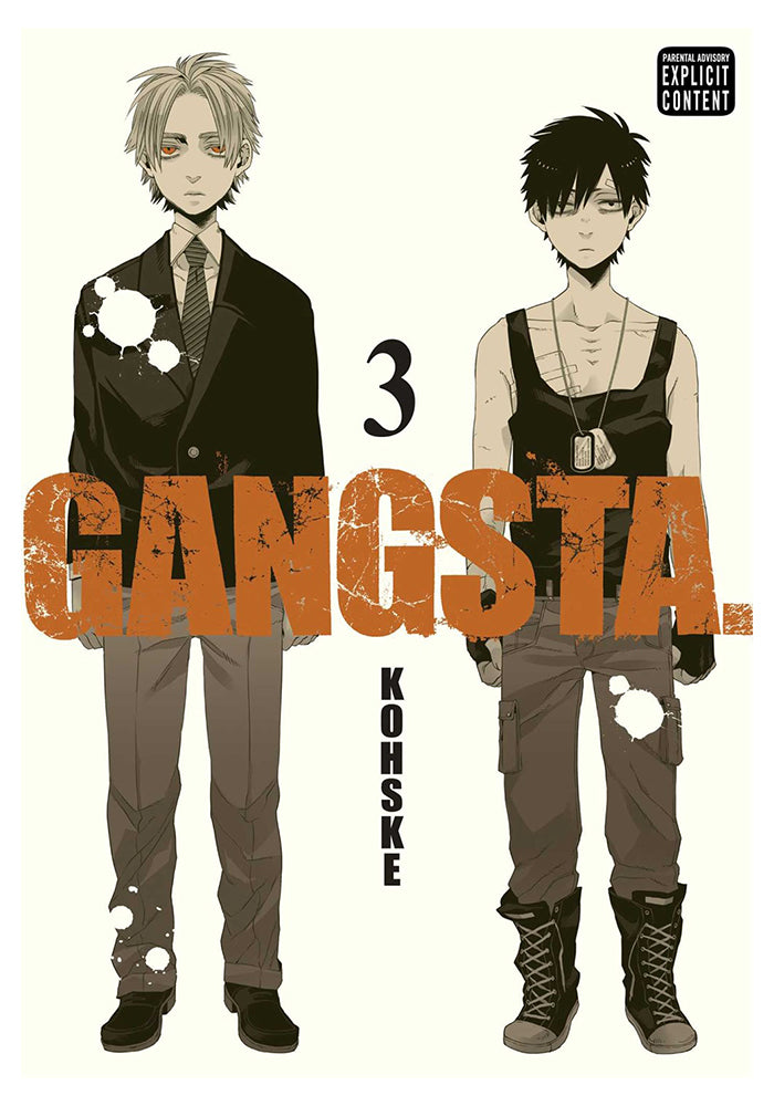 VIZ MEDIA Gangsta Vol. 3 Manga
