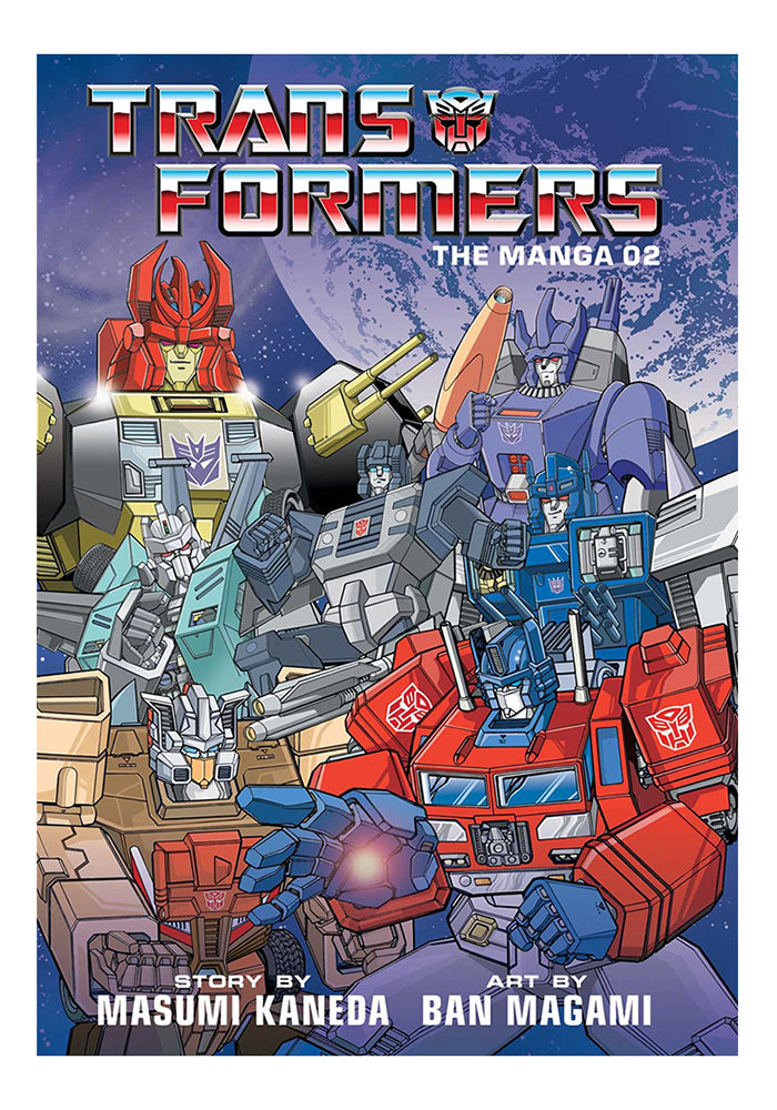 VIZ MEDIA Transformers: The Manga Vol. 2 Hardcover Manga