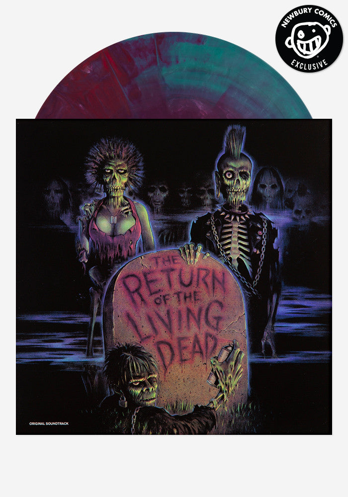 VARIOUS ARTISTS Soundtrack - Return Of The Living Dead Exclusive LP