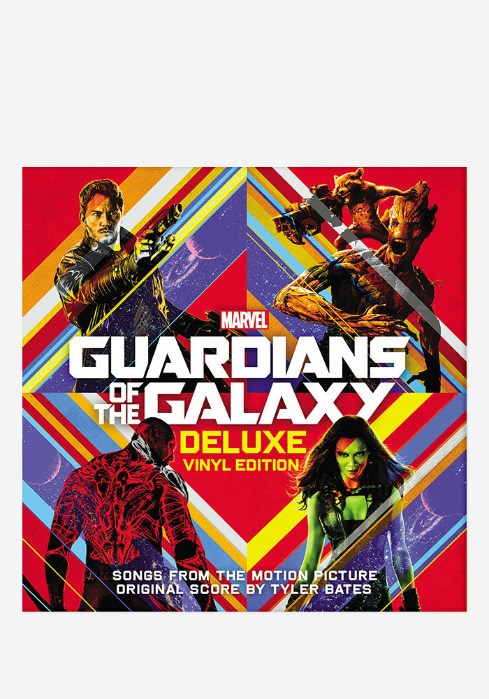 VARIOUS ARTISTS Soundtrack - Guardians Of The Galaxy (Deluxe) 2 LP