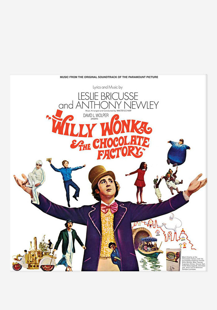 VARIOUS ARTISTS Soundtrack - Willy Wonka & The Chocolate Factory LP