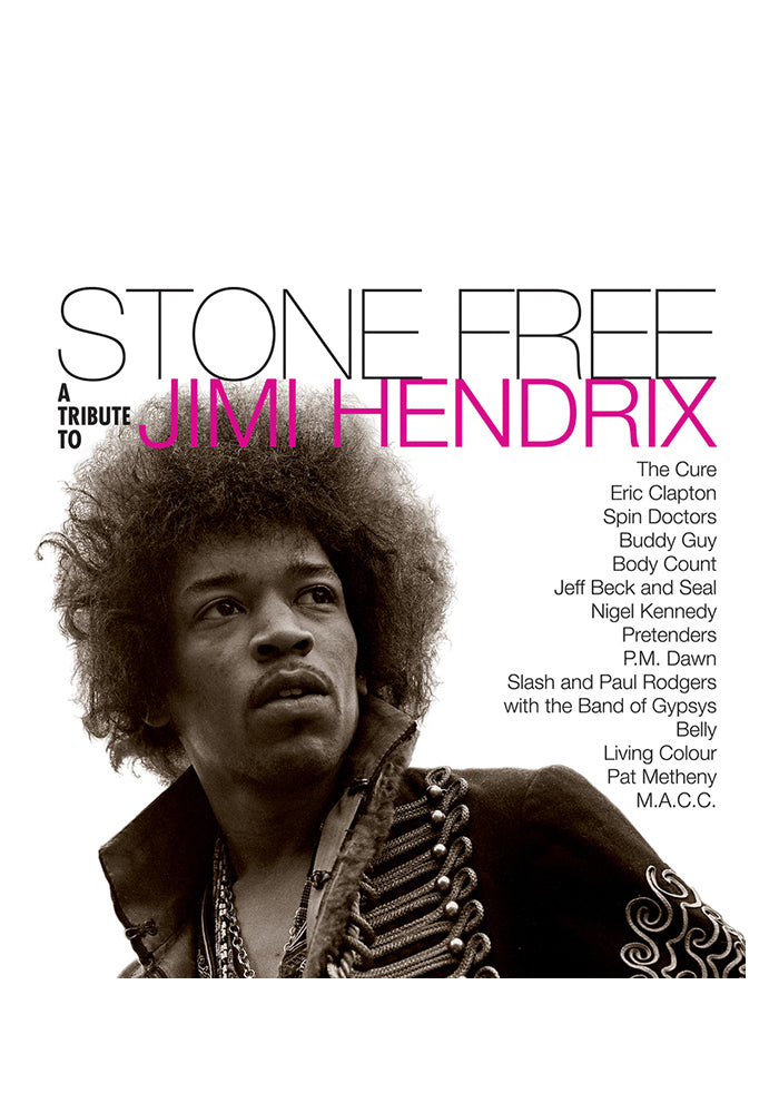 VARIOUS ARTISTS Stone Free: A Tribute To Jimi Hendrix 2LP (Color)