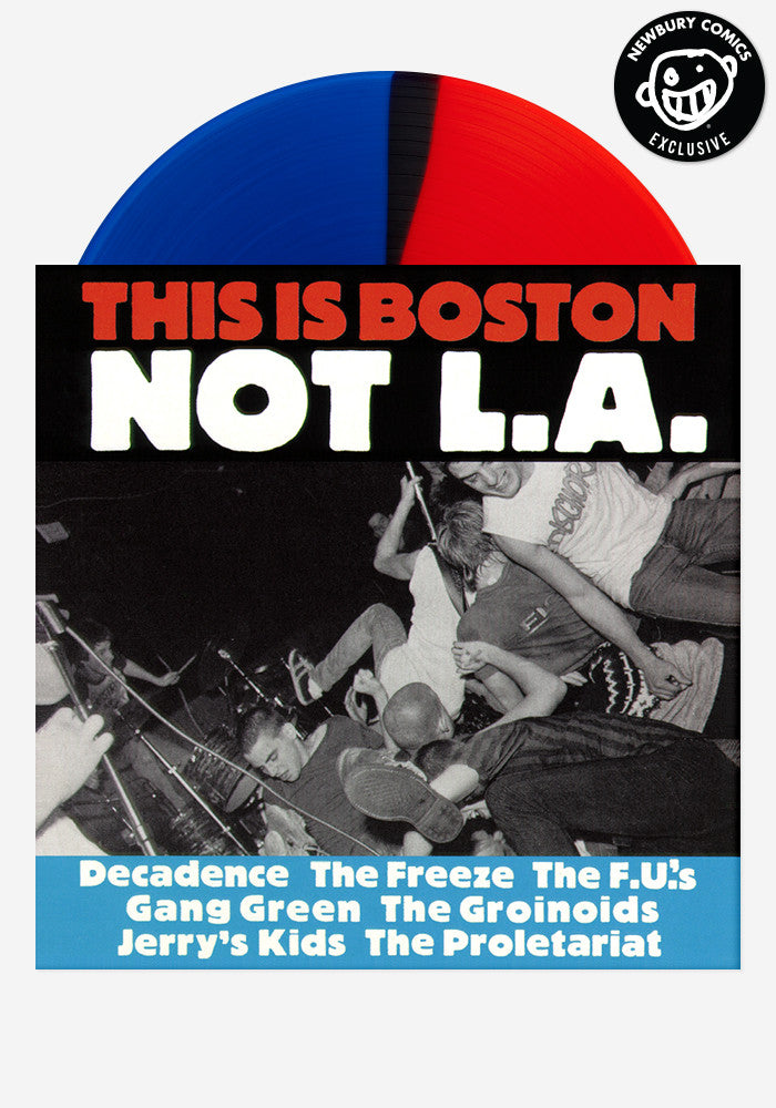 VARIOUS ARTISTS This Is Boston, Not L.A. Exclusive LP (Split)