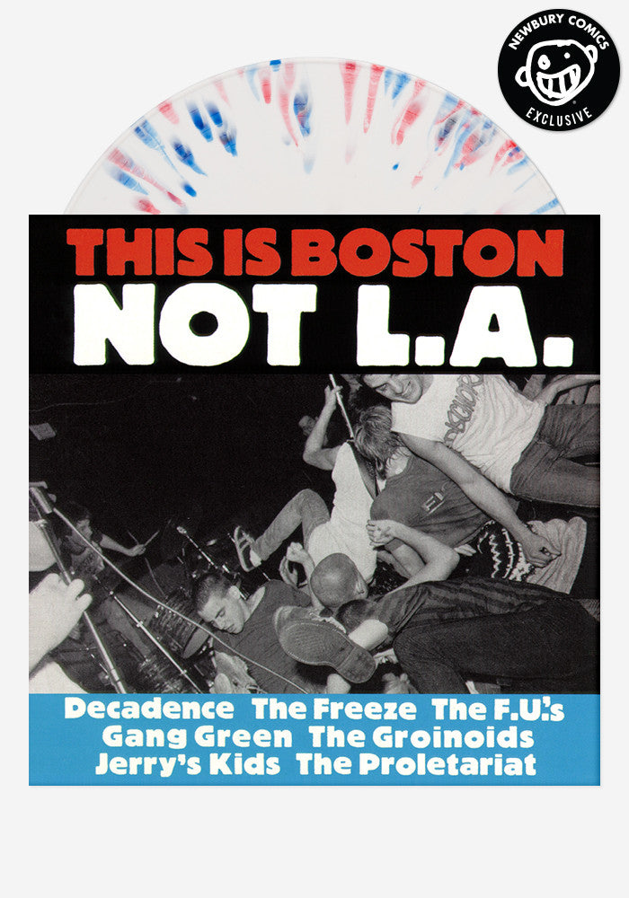 VARIOUS ARTISTS This Is Boston, Not L.A. Exclusive LP (Splattered)