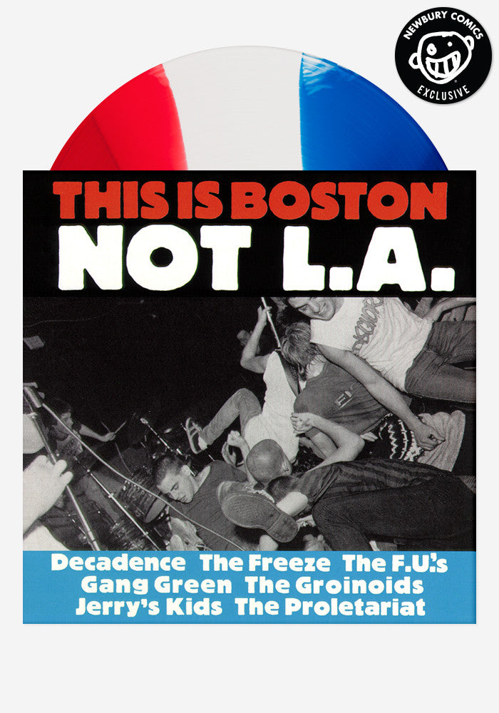 VARIOUS ARTISTS This Is Boston, Not L.A. Exclusive LP (Tripped)