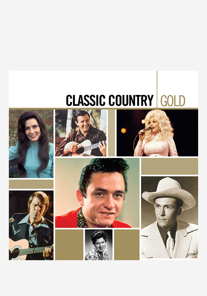 VARIOUS ARTISTS Classic Country Gold 2LP