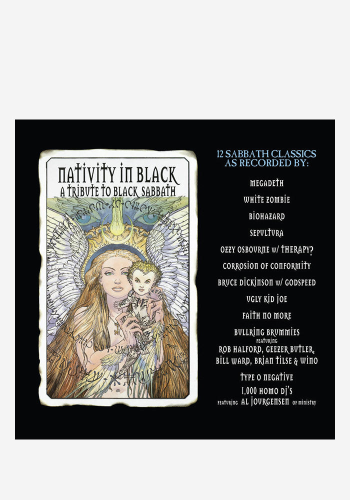 VARIOUS ARTISTS Nativity In Black 2LP (Color)
