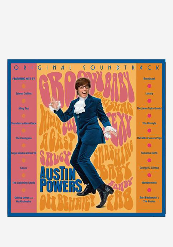VARIOUS ARTISTS Soundtrack - Austin Powers: International Man Of Mystery 2LP (Color)