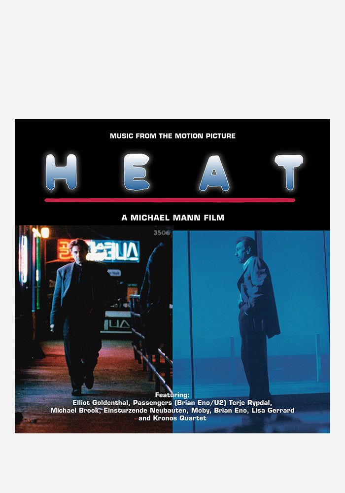VARIOUS ARTISTS Soundtrack - Heat 2LP (Color)