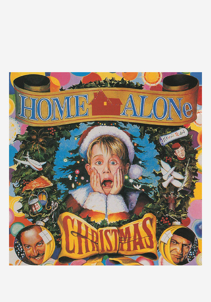VARIOUS ARTISTS Soundtrack - Home Alone Christmas LP (Color)