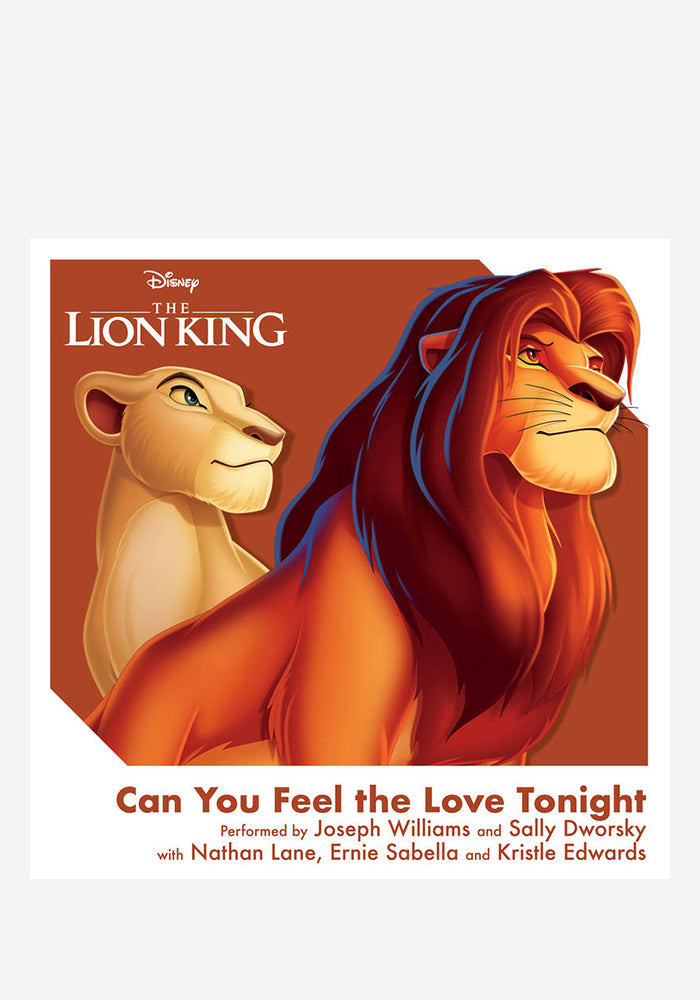 "VARIOUS ARTISTS Soundtrack - The Lion King: Can You Feel The Love Tonight 3"" Single"