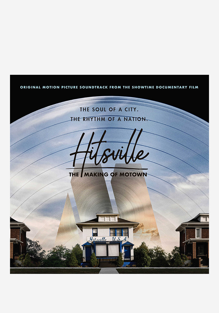 VARIOUS ARTISTS Soundtrack - Hitsville: The Making Of Motown LP