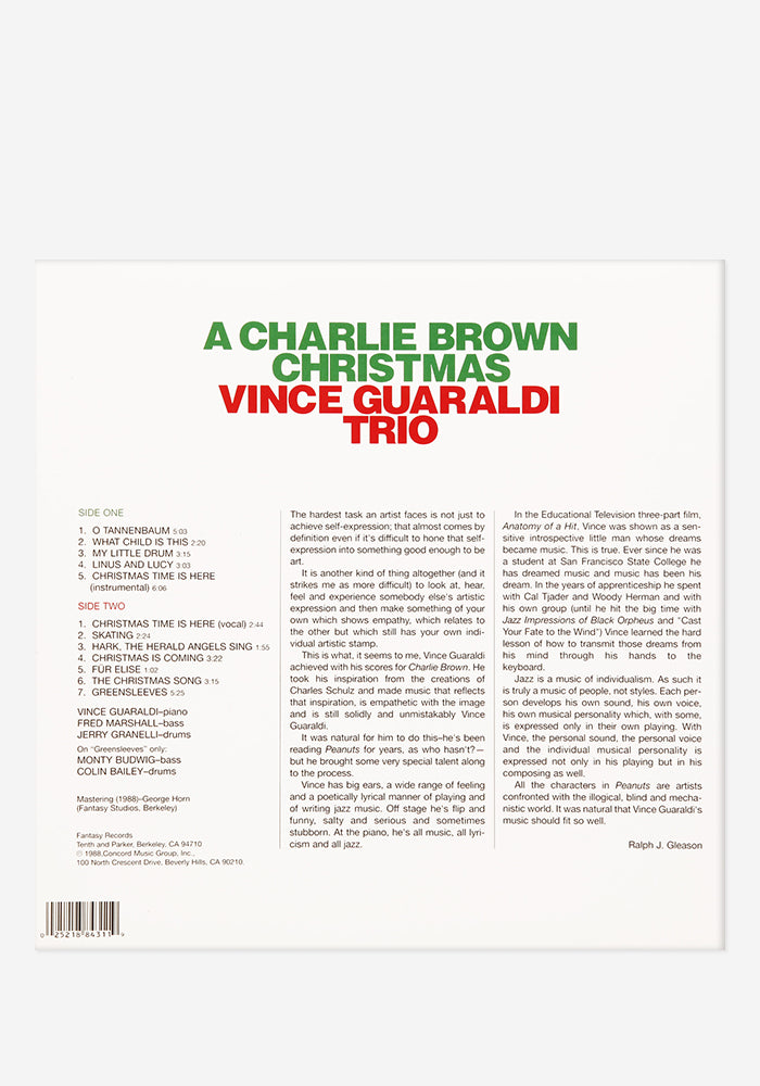 VINCE GUARALDI TRIO A Charlie Brown Christmas Exclusive Starburst LP