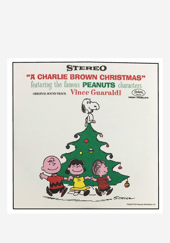 "VINCE GUARALDI Soundtrack - A Charlie Brown Christmas 3"" Single Blind Box"