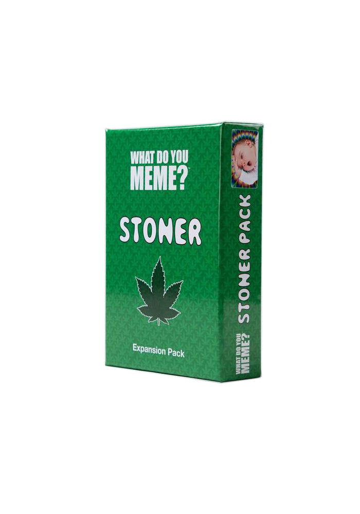 WHAT DO YOU MEME What Do You Meme: Stoner Expansion Pack