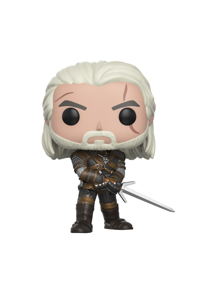 THE WITCHER Funko Pop! Games: The Witcher - Geralt
