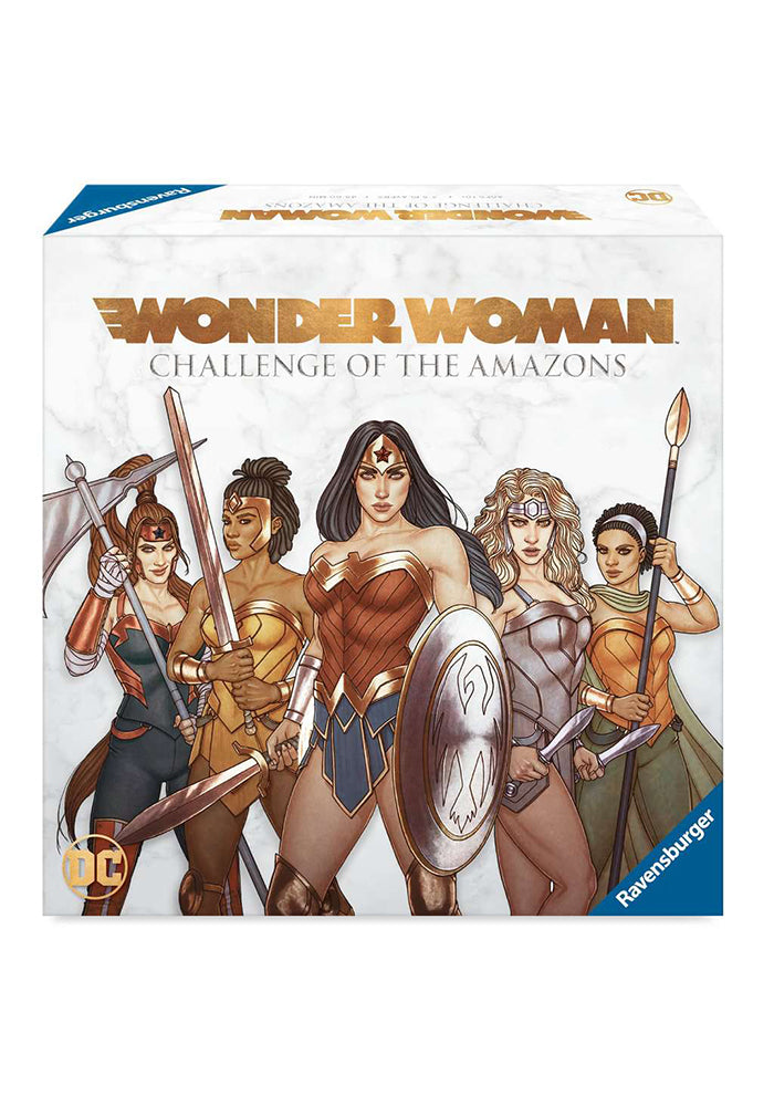 WONDER WOMAN Wonder Woman: Challenge of the Amazons Strategy Game
