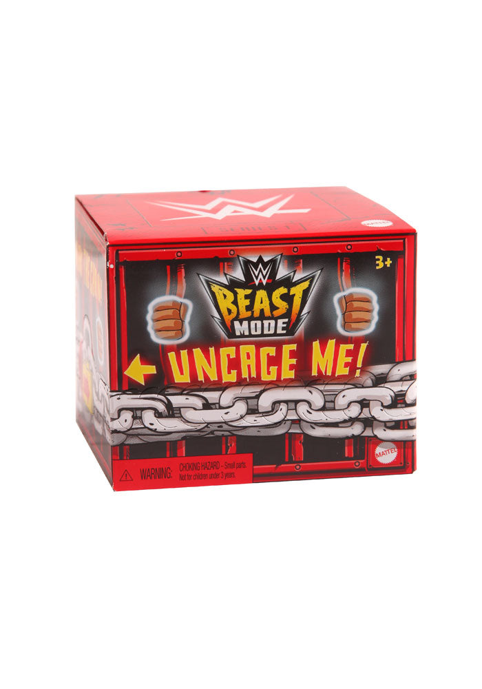 WWE WWE Wrestling Beast Mode Mini Figure Blind Box (Series 1)