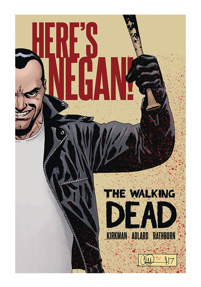 IMAGE COMICS The Walking Dead: Here's Negan! Graphic Novel