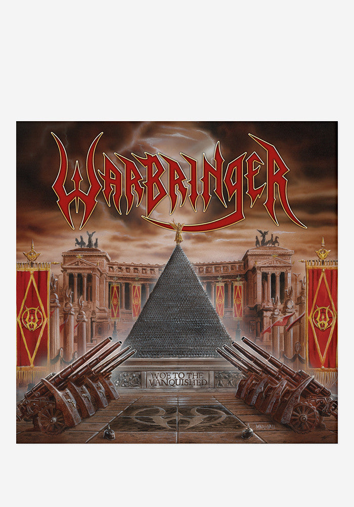 WARBRINGER Woe To The Vanquished With Autographed CD Booklet