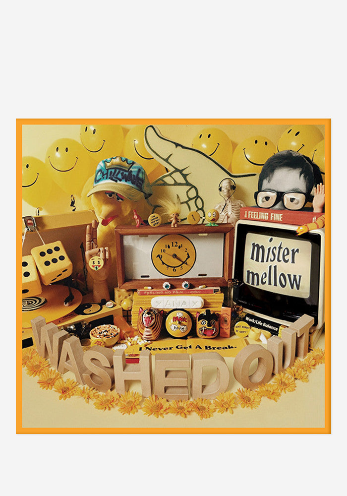 WASHED OUT Mister Mellow CD/DVD With Autographed Booklet