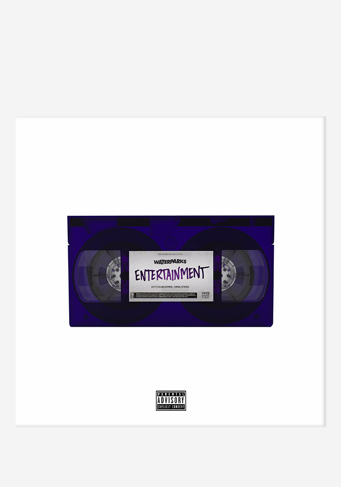 WATERPARKS Entertainment With Autographed CD Booklet