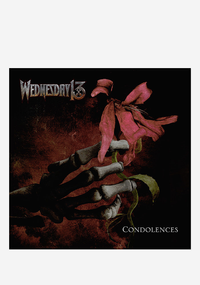 WEDNESDAY 13 Condolences With Autographed CD Booklet