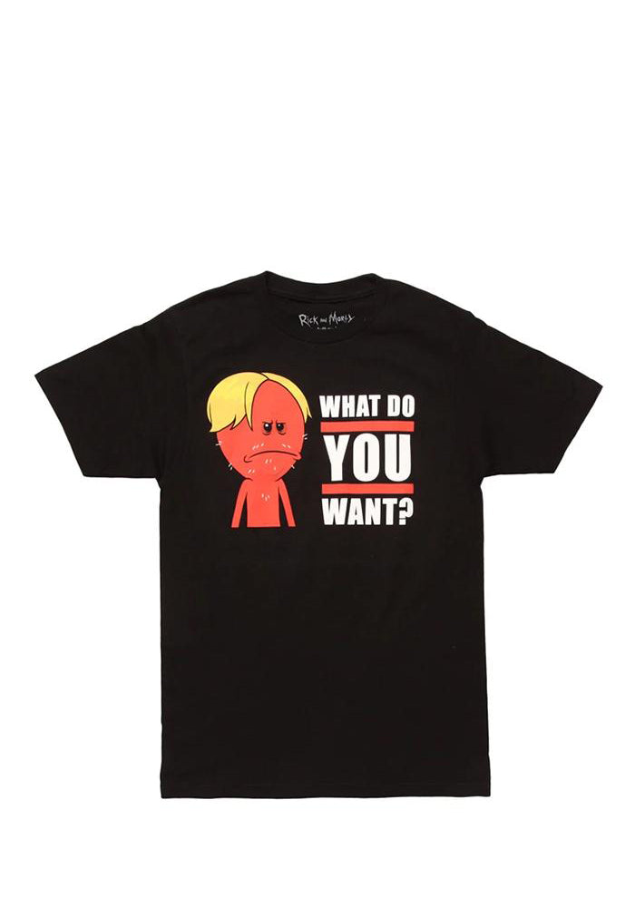 RICK AND MORTY What Do You Want? T-Shirt