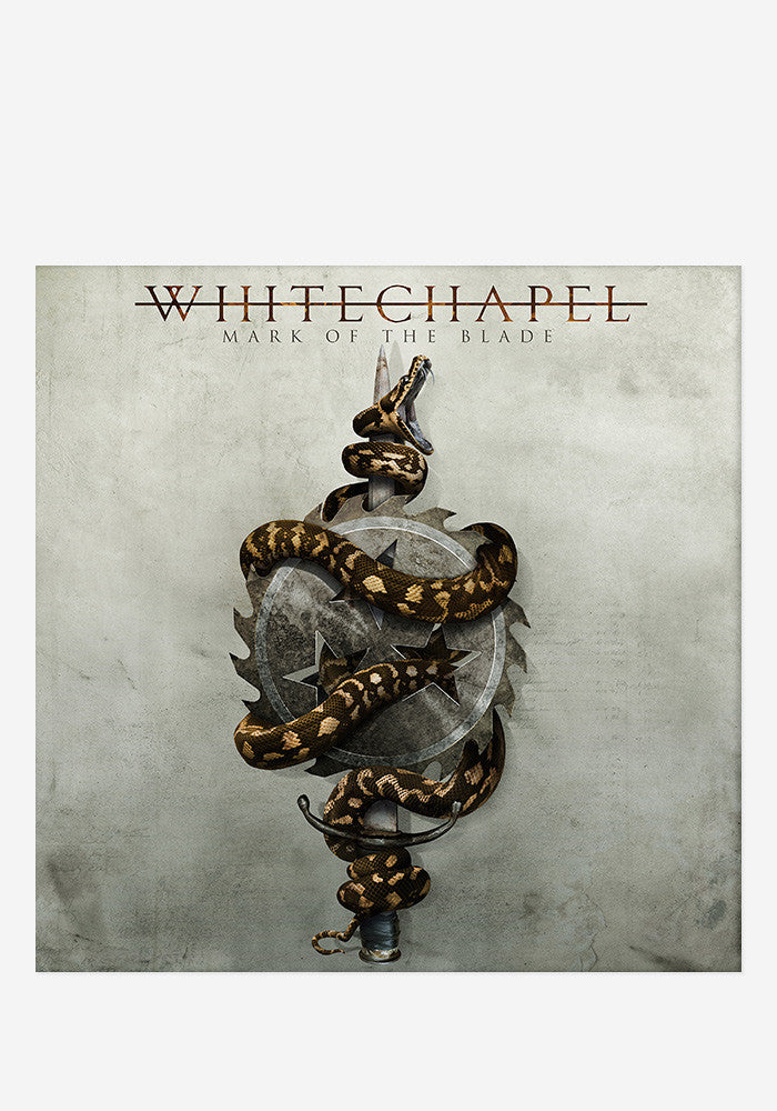 WHITECHAPEL Mark Of The Blade With Autographed CD Booklet