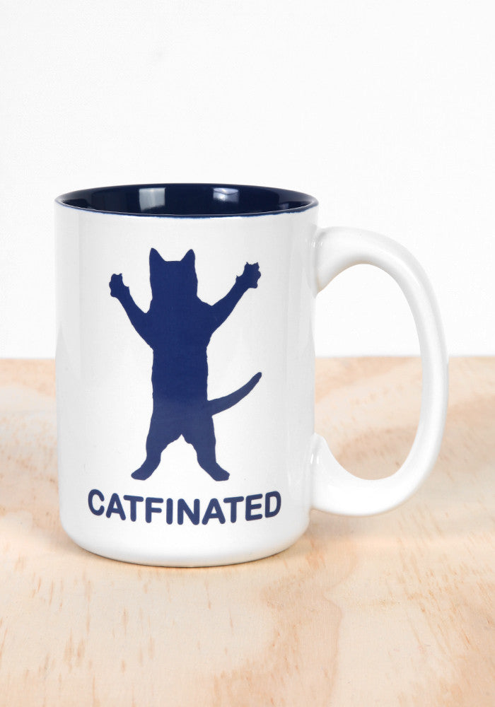 WICKED FUN MUGS Catfinated Coffee Mug