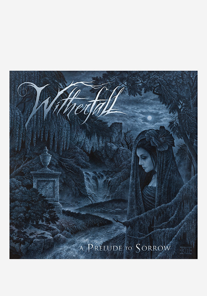 WITHERFALL A Prelude To Sorrow CD With Autographed Booklet