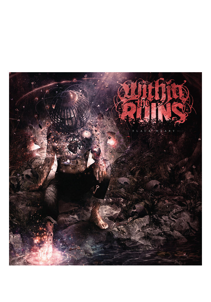 WITHIN THE RUINS Black Heart CD (Autographed)