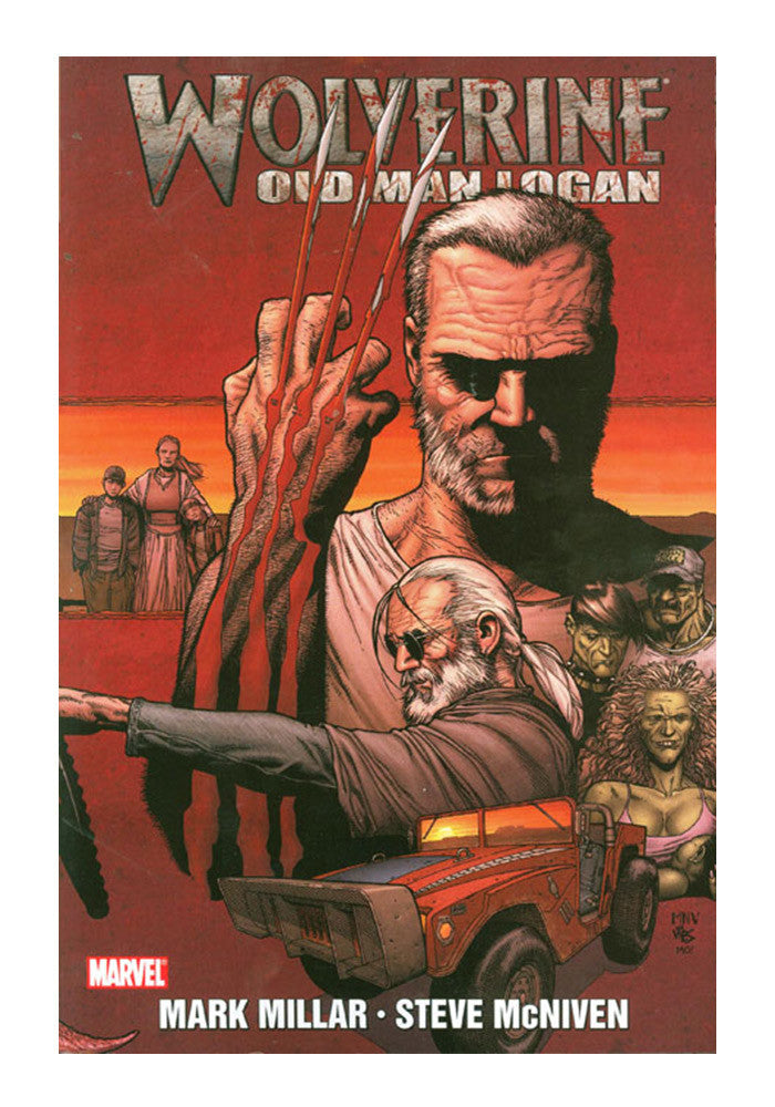 MARVEL COMICS Wolverine: Old Man Logan Graphic Novel