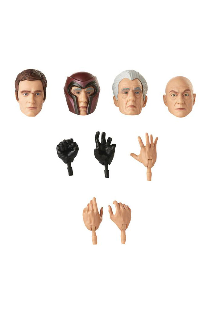 X-MEN Marvel Movie Legends X-Men 6-Inch Action Figure - Professor X & Magneto 2-Pack